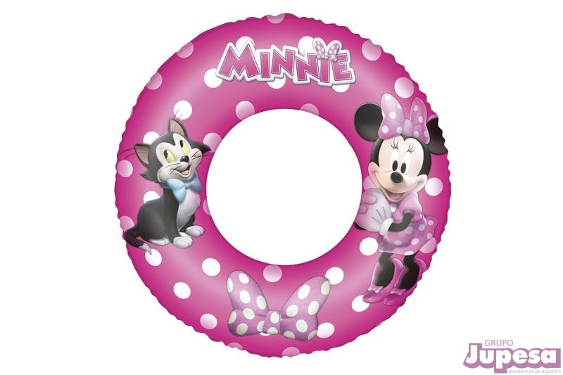 CIRCULAR HINCHABLE MINNIE 56 CM.