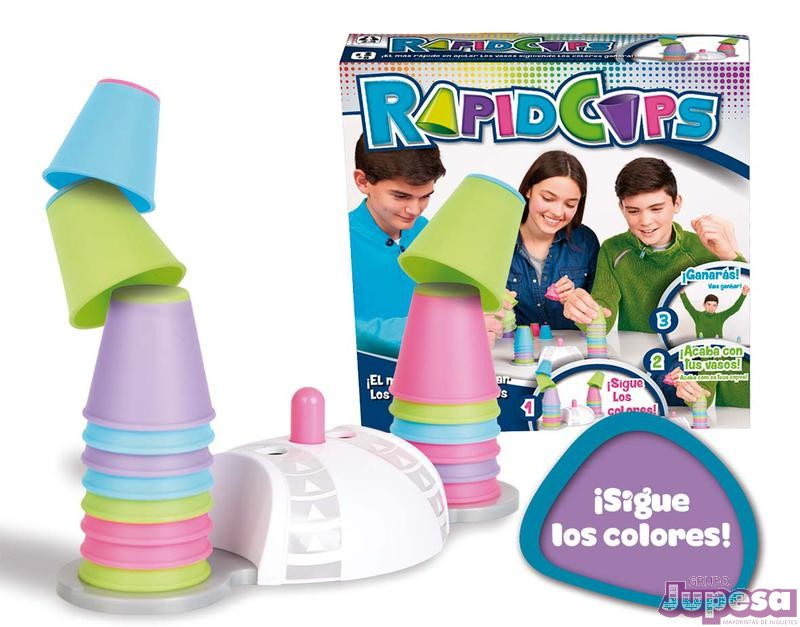 JUEGO RAPIDCUPS