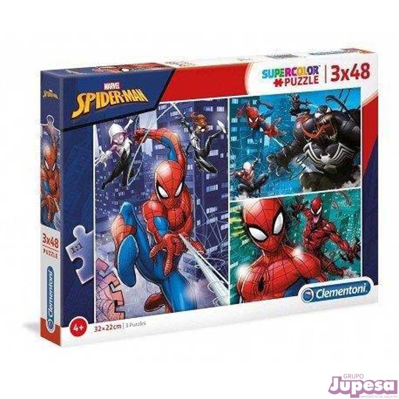 PUZZLE 3X48 PZAS. SPIDER-MAN