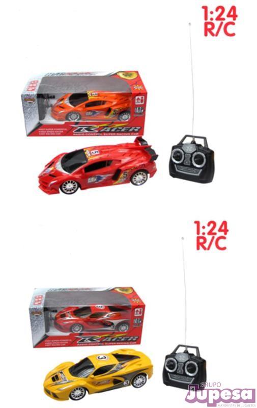 COCHE RACER R/C 1:24