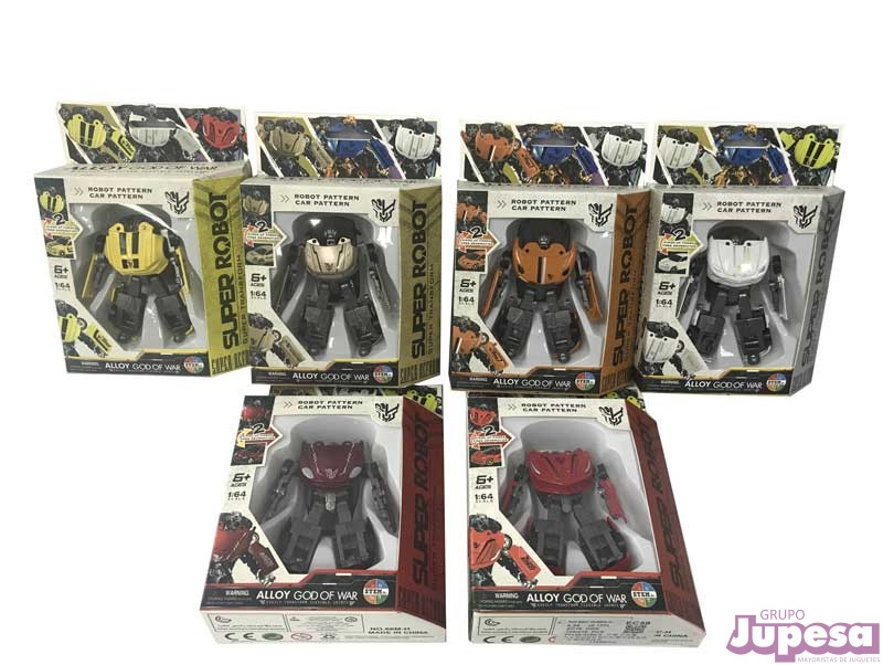 SUPER ROBOT TRANSFORMABLE 1:64