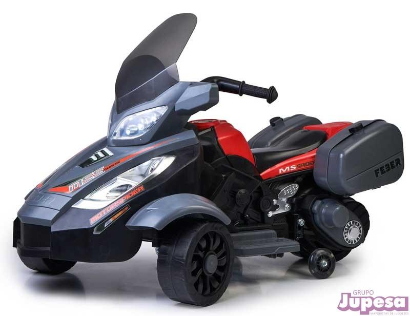 QUAD MOTOR SPIDER 12 V.