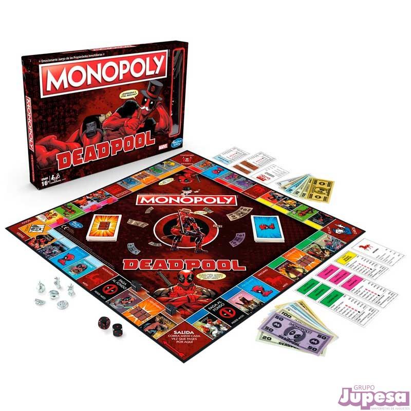 JUEGO MONOPOLY DEADPOOL