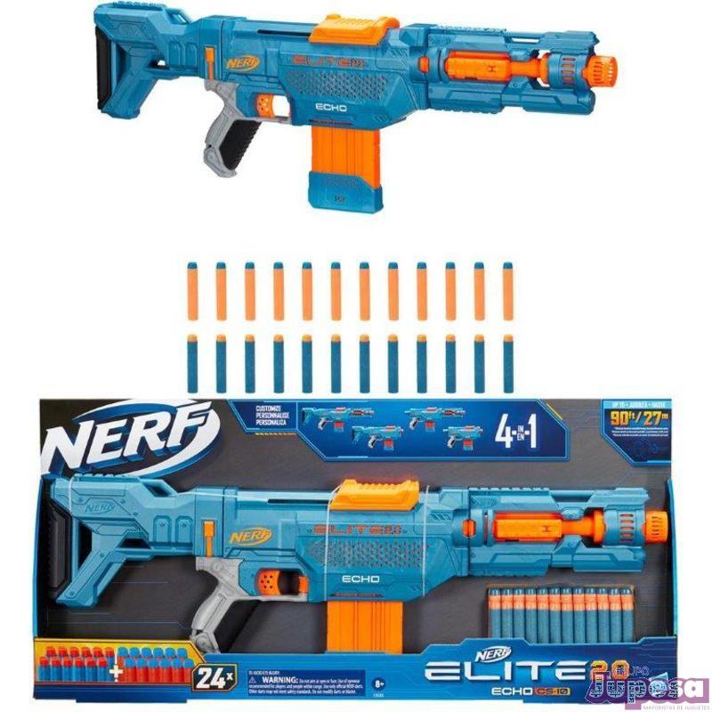 NERF ECHO CS-10 ELITE 2.0 4EN1