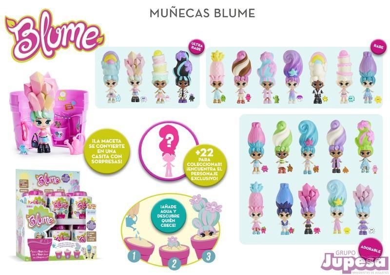 MUÑECA BLUME S.1 SURTIDA