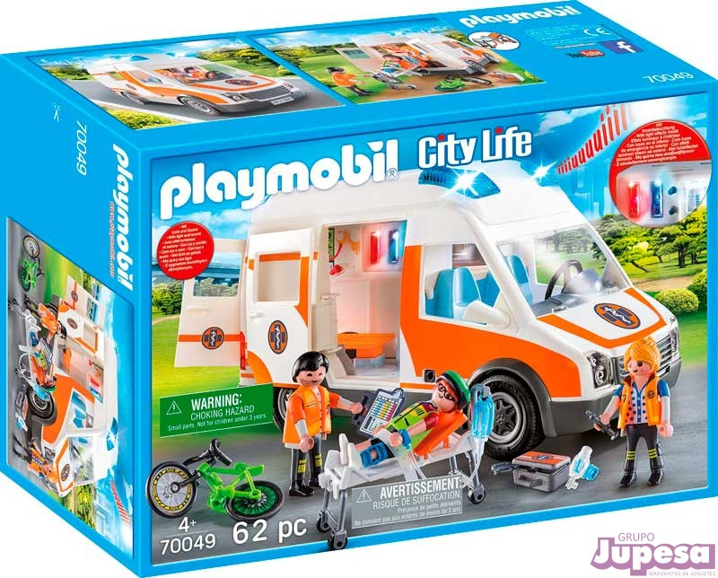 AMBULANCIA PLAYMOBIL CITY LIFE