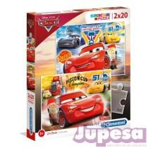 PUZZLE 2X20 PZAS. CARS