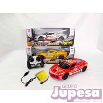 COCHE SPORT RACER R/C 1:16 BAT+CARG