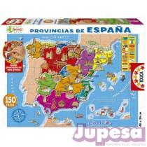 PUZZLE 150 PZAS. PROVINCIAS ESPAÑA