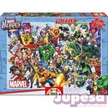 PUZZLE 1000 PZAS. MARVEL HEROES