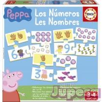 LOS NUMEROS PEPPA PIG