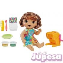 MUÑECA BABY ALIVE COMIDITAS PASTA