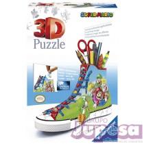 PUZZLE 3D ZAPATILLA SUPER MARIO
